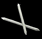 CLAVOS DOBLE PUNTA - INOX A4 316 L 2 puntas Ø 2.7 mm (1kg)