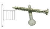 Punta rosca laminada para fijación de tacones