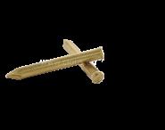Remache cabeza plana - Latón Ø 2.7 mm